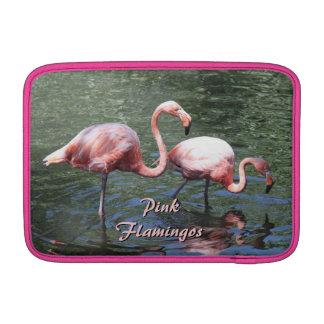 Pink Flamingos MacBook Air Sleeve