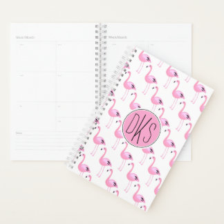 Pink Flamingos | Monogram Planner