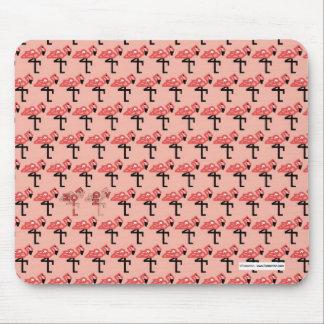 Pink Flamingos Mousepad