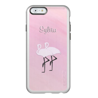 Pink Flamingos Personal Incipio Feather Shine iPhone 6 Case