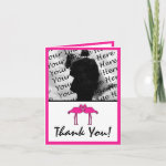 Pink Flamingos Photo Thank You Cards