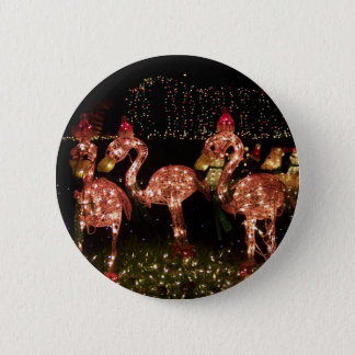 Pink Flamingo's Pinback Button