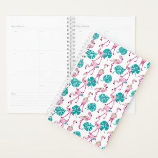 Pink Flamingos Planner
