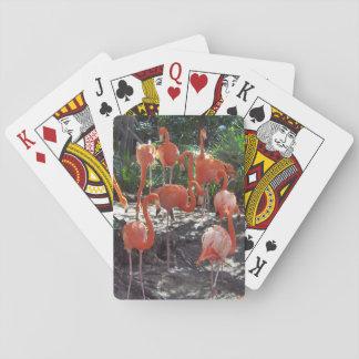 Pink Flamingos Playing Cards