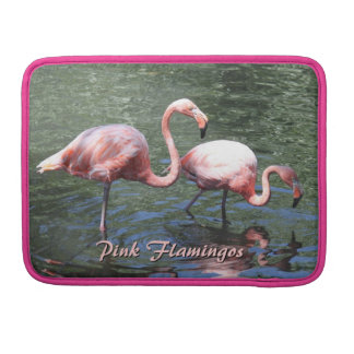 Pink Flamingos Sleeve For MacBook Pro