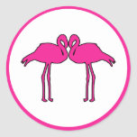 Pink Flamingos Stickers