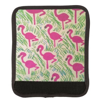 Beach Themed Pink Flamingos Tropical Pattern Handle Wrap