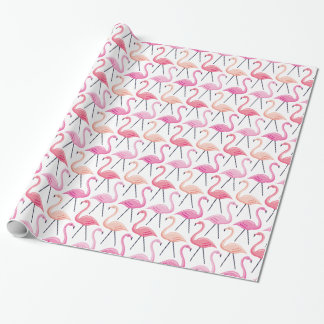 Pink Flamingos Wrapping Paper