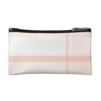 Pink Flannel Pattern Makeup Bag