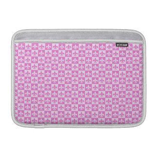 Pink Fleur de lis MacBook Air Sleeves