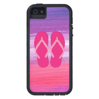 Pink Flip-Flops iPhone SE/5/5s Case