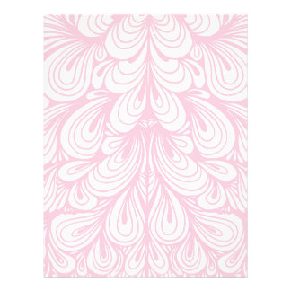 Pink Floral Abstract Case Letterhead