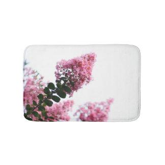Pink Floral Bath Mat Bath Mats