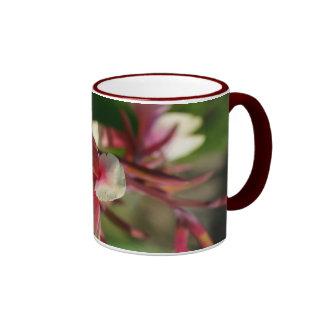 Pink floral coffee & tea mug