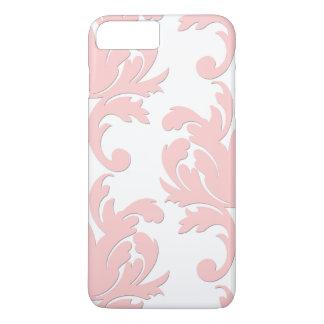 Pink Floral Damask iPhone 7 Plus Case