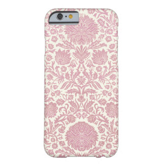 Pink Floral Damask Pattern Barely There iPhone 6 Case