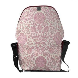 Pink Floral Damask Pattern