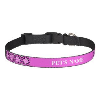 Pink Floral Dog Collars