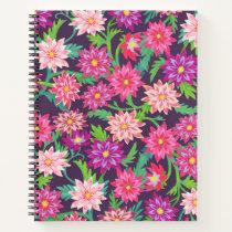 Pink Floral Fantasy Notebook