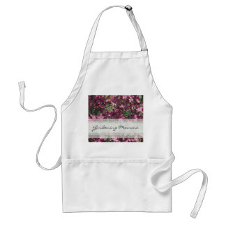 PInk Floral Gardening Momma Apron