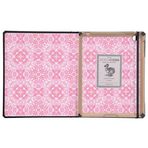 Pink Floral Geometric iPad Dodo Case iPad Covers