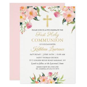 First Communion 1st Holy Communion Invitations Zazzle