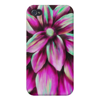 Pink Floral I Phone Case Cover For iPhone 4