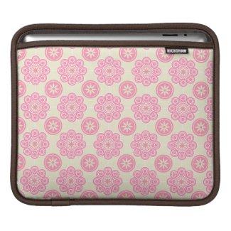 Pink Floral iPad Sleeve rickshaw_sleeve