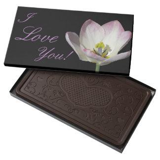 Pink Floral Love Dark Chocolate Bar