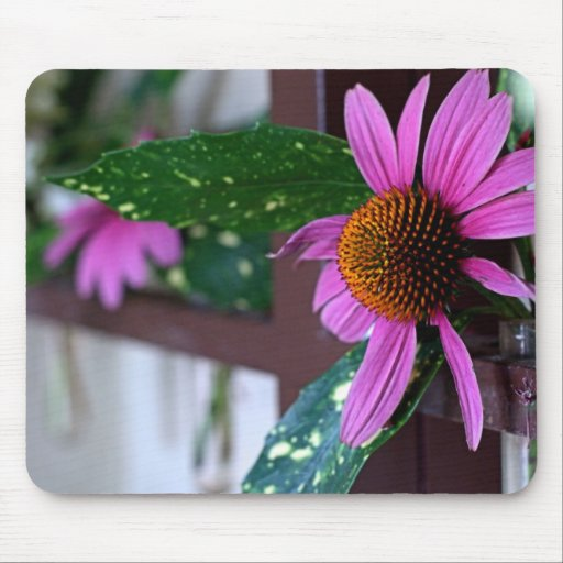 """""""Pink Floral"""" Mouse Pad"""