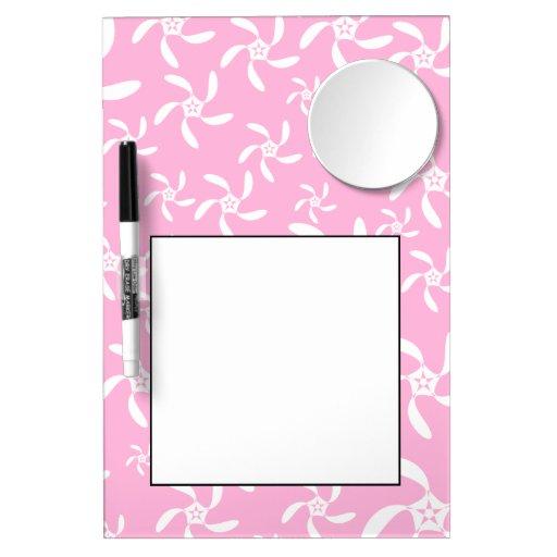 Pink Floral Pattern. Dry-Erase Whiteboards