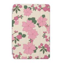 Pink Floral Pattern iPad Mini Cover
