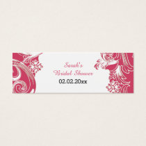 pink floral Personalized Gift Tags