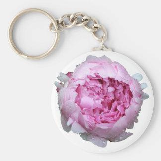 Pink Floral Petals Key Chains