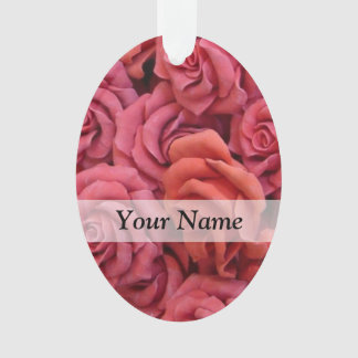 Pink floral roses