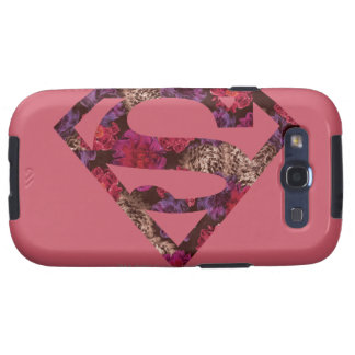 Pink Floral S-Shield Samsung Galaxy S3 Covers