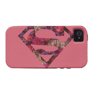 Pink Floral S-Shield iPhone 4/4S Cover