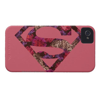 Pink Floral S-Shield iPhone 4 Cover