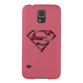 Pink Floral S-Shield Case For Galaxy S5