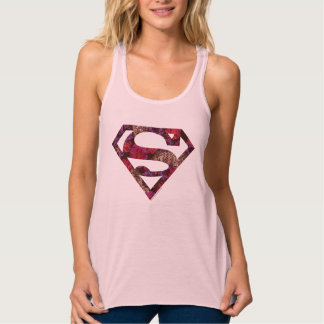Pink Floral S-Shield Tank Top