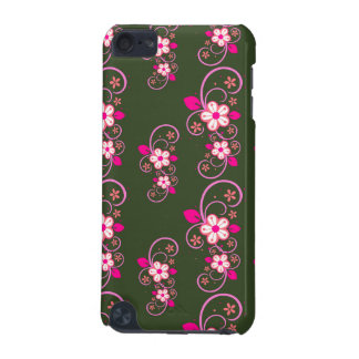 Pink Floral Swirl iPod Touch 5G Covers