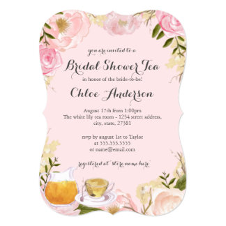 succulent wedding invitations tea bridal shower invitations 700 tea bridal 7790