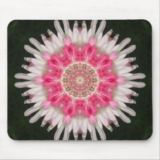 Pink Floralburst Mouse Pad