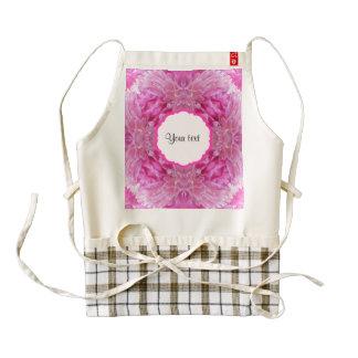 Pink Florals Zazzle HEART Apron