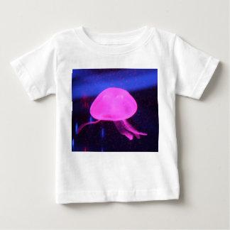 Pink Florescent Jellyfish Baby T-Shirt