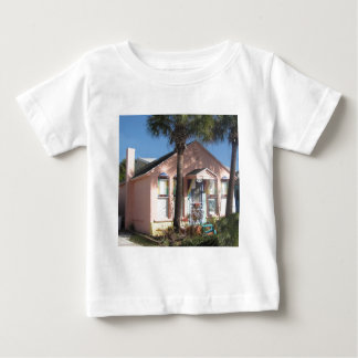 Pink Florida Cottage Tee Shirt