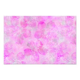 pink Flourish Dreams Photo Print