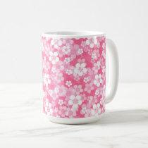 Pink Flower 15 oz Mug