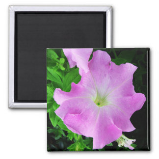 Pink Flower 2 Inch Square Magnet