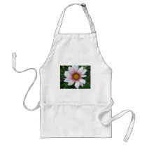 Pink Flower Adult Apron